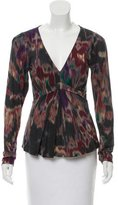 Etro Printed Wool Top