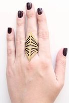 Low Luv x Erin Wasson by Erin Wasson Negative Space Ring in Gold