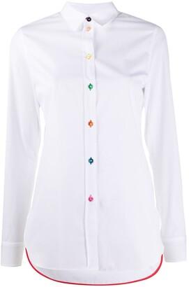 Paul Smith Contrast-Button Shirt