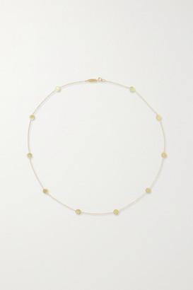 Jennifer Meyer Circle-by-the-inch 18-karat Gold Necklace - one size