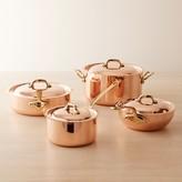 Mauviel Copper 8-Piece Cookware Set