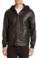 Mackage Grayson Pebbled Leather Jacket