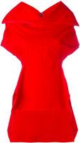 Rick Owens draped neck top - women - Cotton/Spandex/Elastane - 42