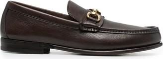 Henderson Baracco Almond-Toe Horsebit Loafers