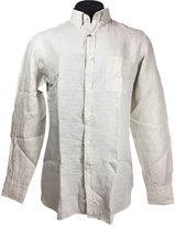 Massimo Dutti Men's Casual-fit plain linen shirt 0143/110