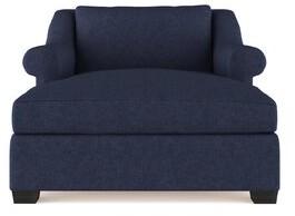 Canora Grey Auberge Velvet Chaise Lounge Canora Grey Upholstery Color: Plush Velvet Oyster