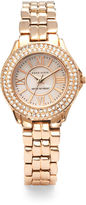 Anne Klein Rose Goldtone Dress Watch