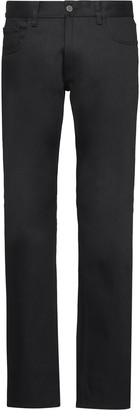 Prada low-rise straight jeans