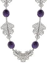 Effy Jewelry Balissima Sterling Silver Amethyst Earrings, 55.59 TCW