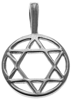 Sterling Silver Star Of David Charm by Cynthia Gale