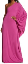 Thumbnail for your product : Halston Lydia One-Shoulder Gown