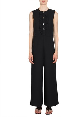 Tory Burch Button Embellished Jumpsuit