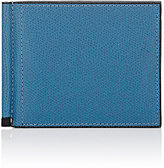 Valextra Men's Moneyclip Billfold-BLUE