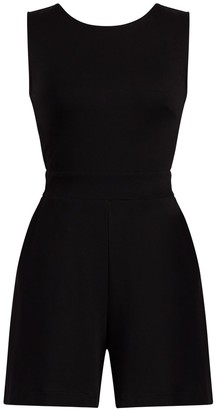 New York & Co. Tie-Back Cotton Romper