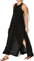 Knot Sisters Black Maxi