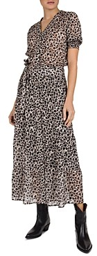 Gerard Darel Solidea Printed Dress