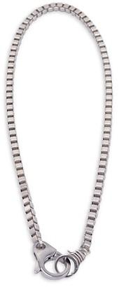 Jonas Studio Hudson Sterling Silver Box Chain Necklace