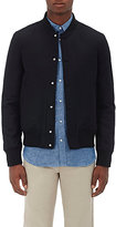 Officine Generale Men's Leon Teddy Wool-Blend Bomber Jacket