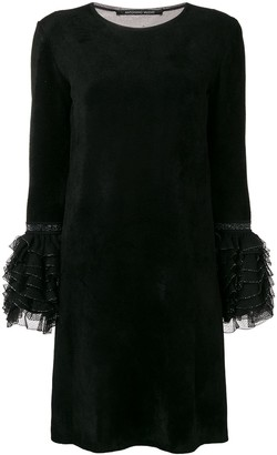 Antonino Valenti Ruffled Cuff Dress