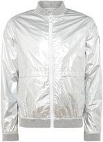 Calvin Klein Men's Ondo Metallic Bomber Jacket