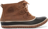 Sorel Out N AboutTM Waterproof Nubuck And Rubber Boots - Brown