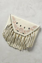 Anthropologie Jolene Tassel Clutch