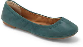 Lucky Brand Women's Ballet Flats LIGHT - Light Kelp Emmie Leather Flat - Women