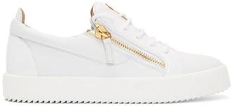 Giuseppe Zanotti White Frankie Sneakers