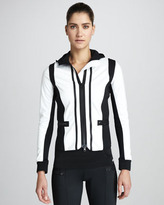 adidas by Stella McCartney Colorblock Hooded Running Jacket