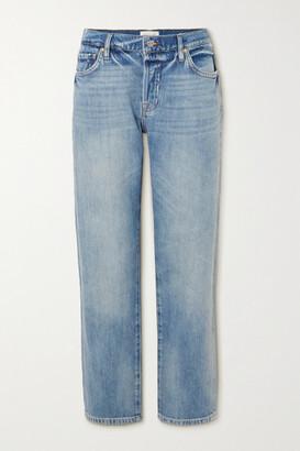 Frame Le Slouch Distressed Boyfriend Jeans - Mid denim