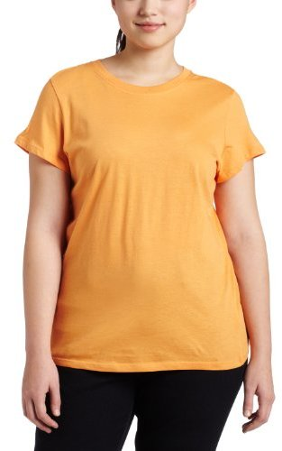 Southpole Juniors' Plus Size Basic Solid-Color T-Shirt