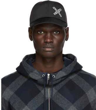 Kenzo Black Little X Sport Cap