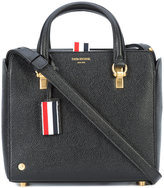 Thom Browne tri-color detail tote