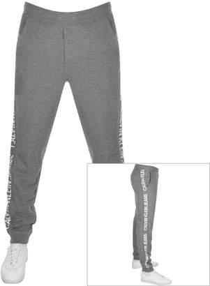 Calvin Klein Jeans Side Stripe Joggers Grey