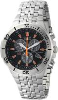 Citizen Eco-drive Chronograph Perpetual Calender Stanless-stelel Men's Watch