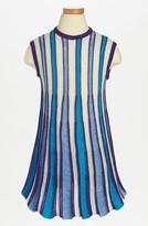 Missoni Stripe Dress (Toddler Girls, Little Girls & Big Girls)