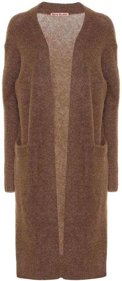 Acne Studios Wool-blend longline cardigan
