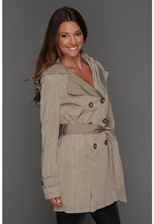 DKNY Hooded Trench 68602-YV