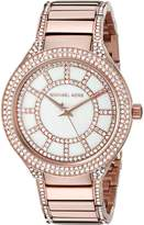 Michael Kors Women's Kerry Rose -Tone Watch MK3313