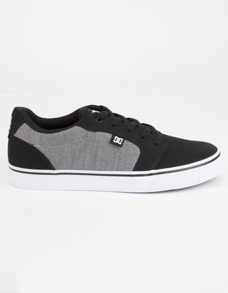 DC Anvil TX SE Black Combo Mens Shoes