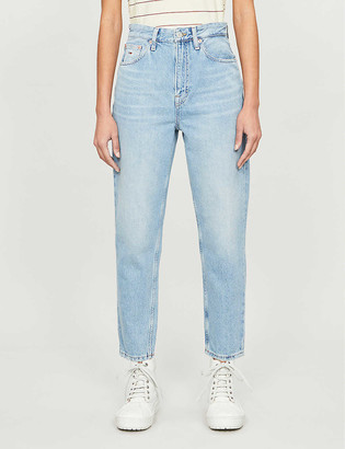 Tommy Jeans High-waisted tapered jeans