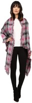 Betsey Johnson Check Me Out Blanket Wrap