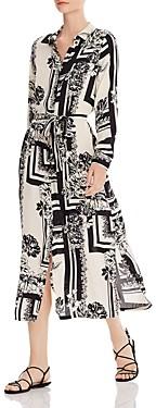 Vero Moda Mimi Printed Long Shirt Dress