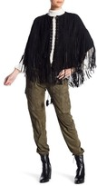 Haute Hippie Suede Cargo Jogger Pants