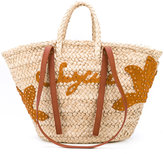 See by Chloe holiday tote - women - Raffia/Leather - One Size