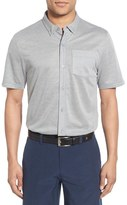 Travis Mathew 'Potter' Short Sleeve Wrinkle Resistant Sport Shirt
