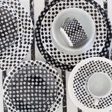 Kelly Wearstler Dots Soup Plate
