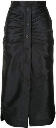 Manning Cartell buttoned front skirt