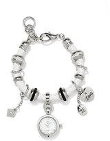 New York & Co. Corded Watch Charm Bracelet