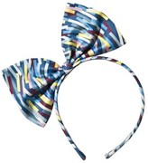 No Added Sugar Multi Striped Large Bow Headband